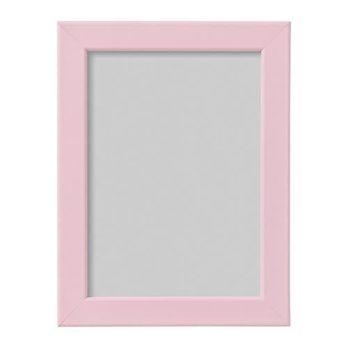 Fiskbo Frame Pink 5x7 Quot In 2020 Pink Picture Frames