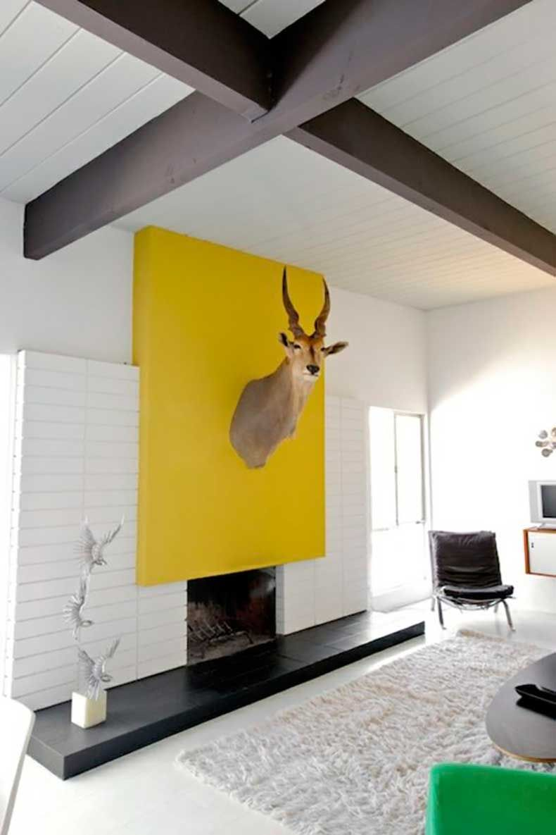 10 Modernos Interiores Color-Block | Living rooms, Contemporary and Room