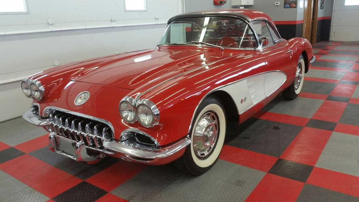 1960 Chevrolet Corvette (With images) American dream