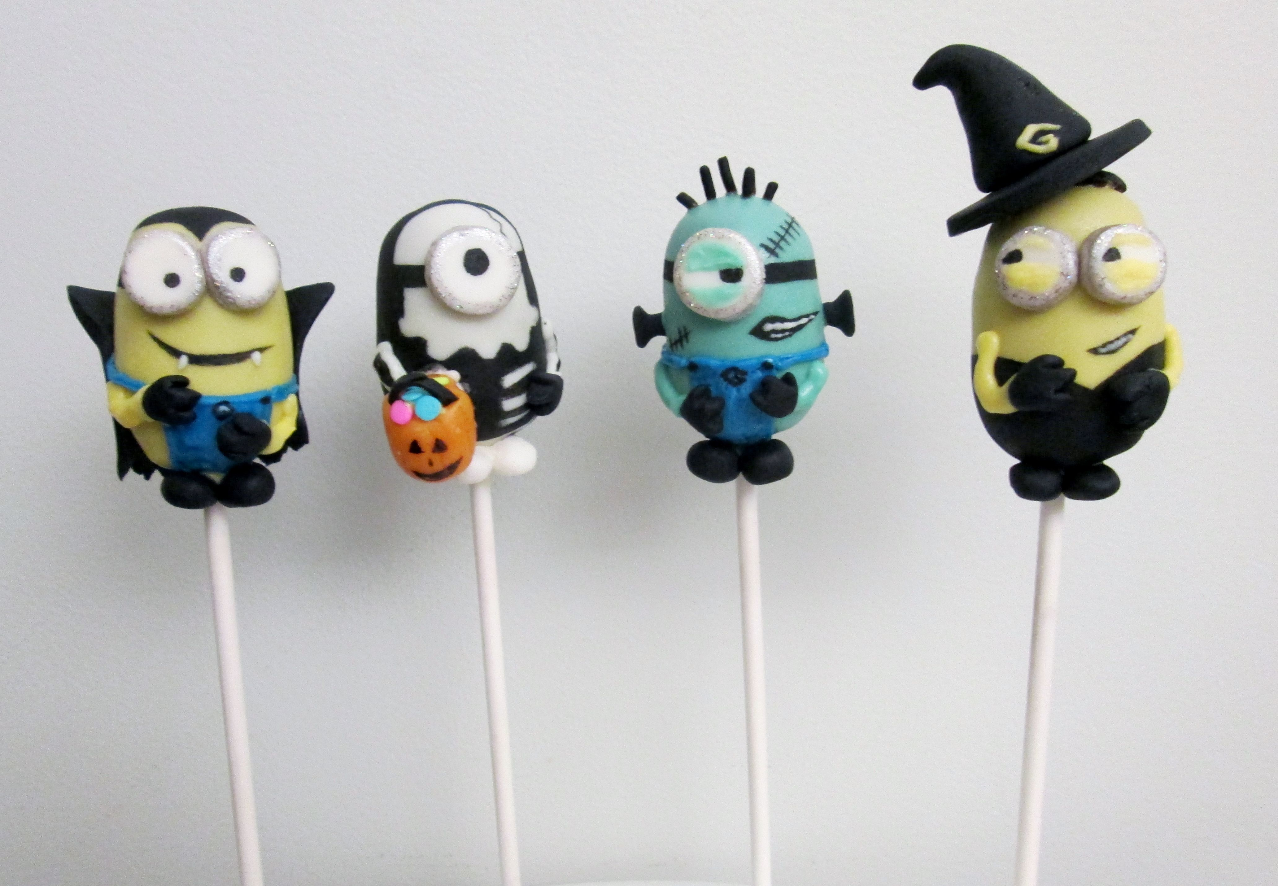 Halloween Minion Cake Pops | Pop Culture Cakes/Cake Pops/Cupcakes ...