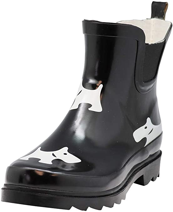 Ladies Waterproof Winter Spring Garden Boot Womens Ankle Rain Boots NORTY