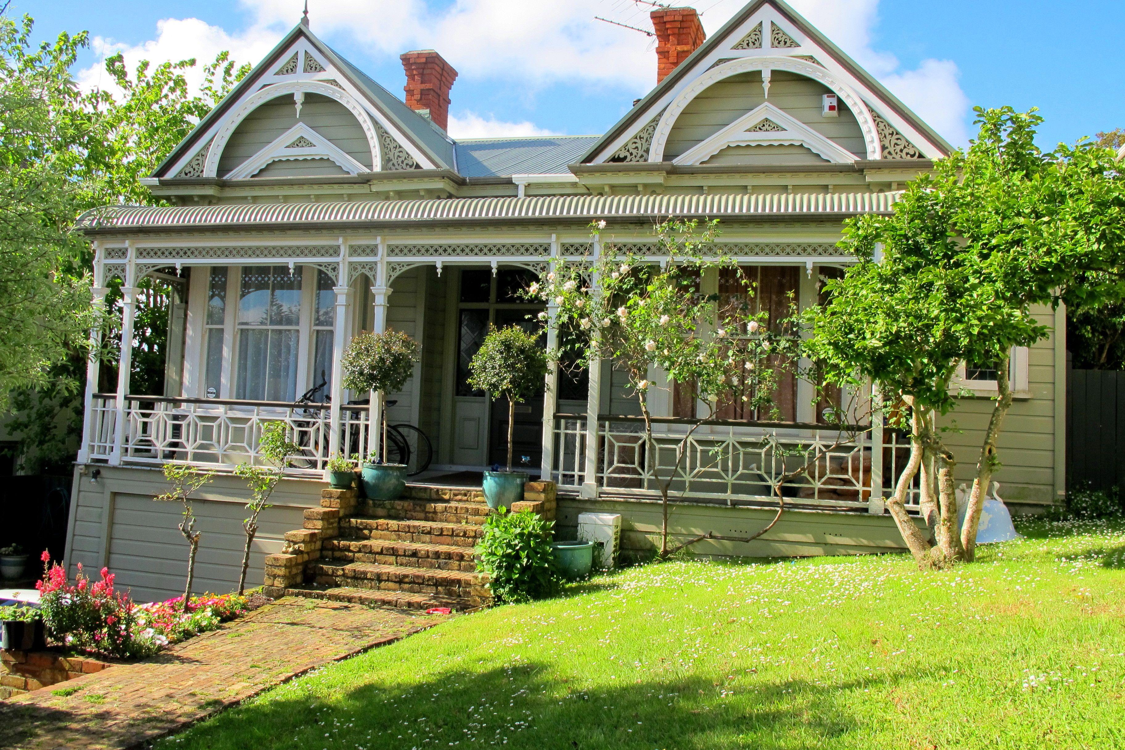 Villa, Auckland, New Zealand New zealand houses, Cottage