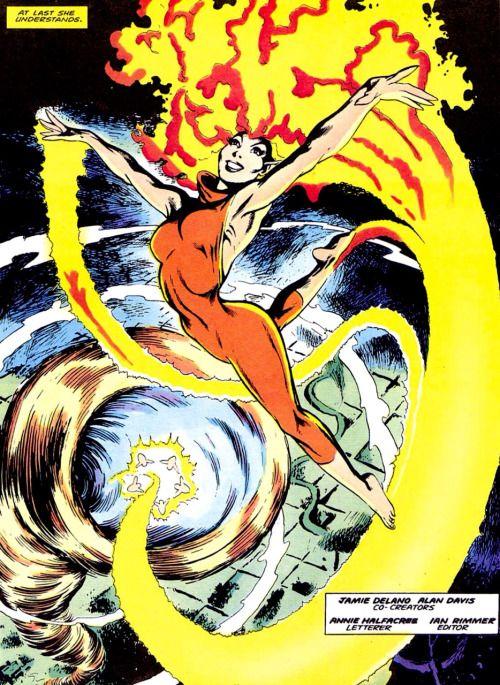 Meggan Reborn Captain Britain 8 August 1985 Alan Davis And Jamie Delano Marvel Superhero Villains Marvel Superheroes