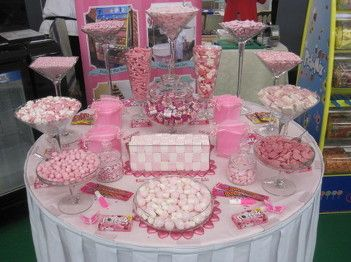 Pink Sweet Table Wedding Show