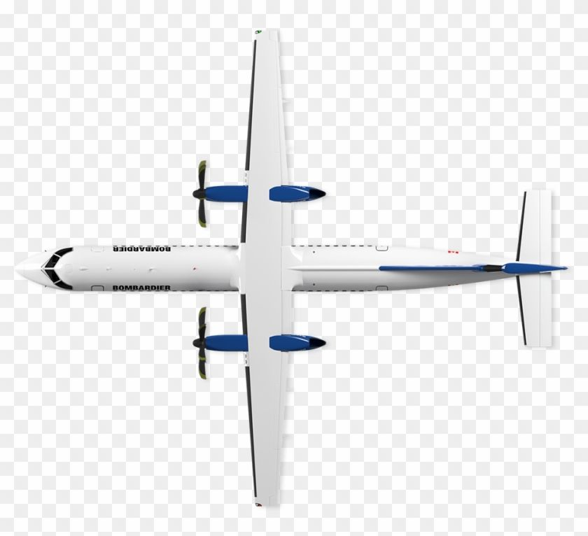 Find Hd Q Series Bombardier Commercial Aircraft Top View Hd Png Download To Search And Download More Free Transparent P Commercial Aircraft Aircraft Top View