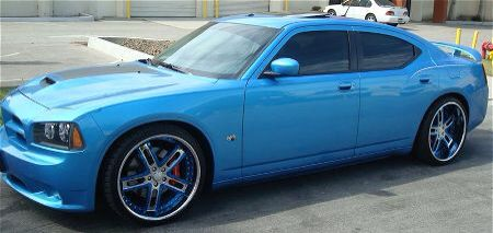 Dodge Charger In Blue Yep My Next Car