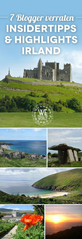 7 Blogger verraten ihre Irland Reise Highlights und Insidertipps.
