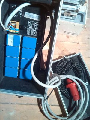 Service luci audio dimmer