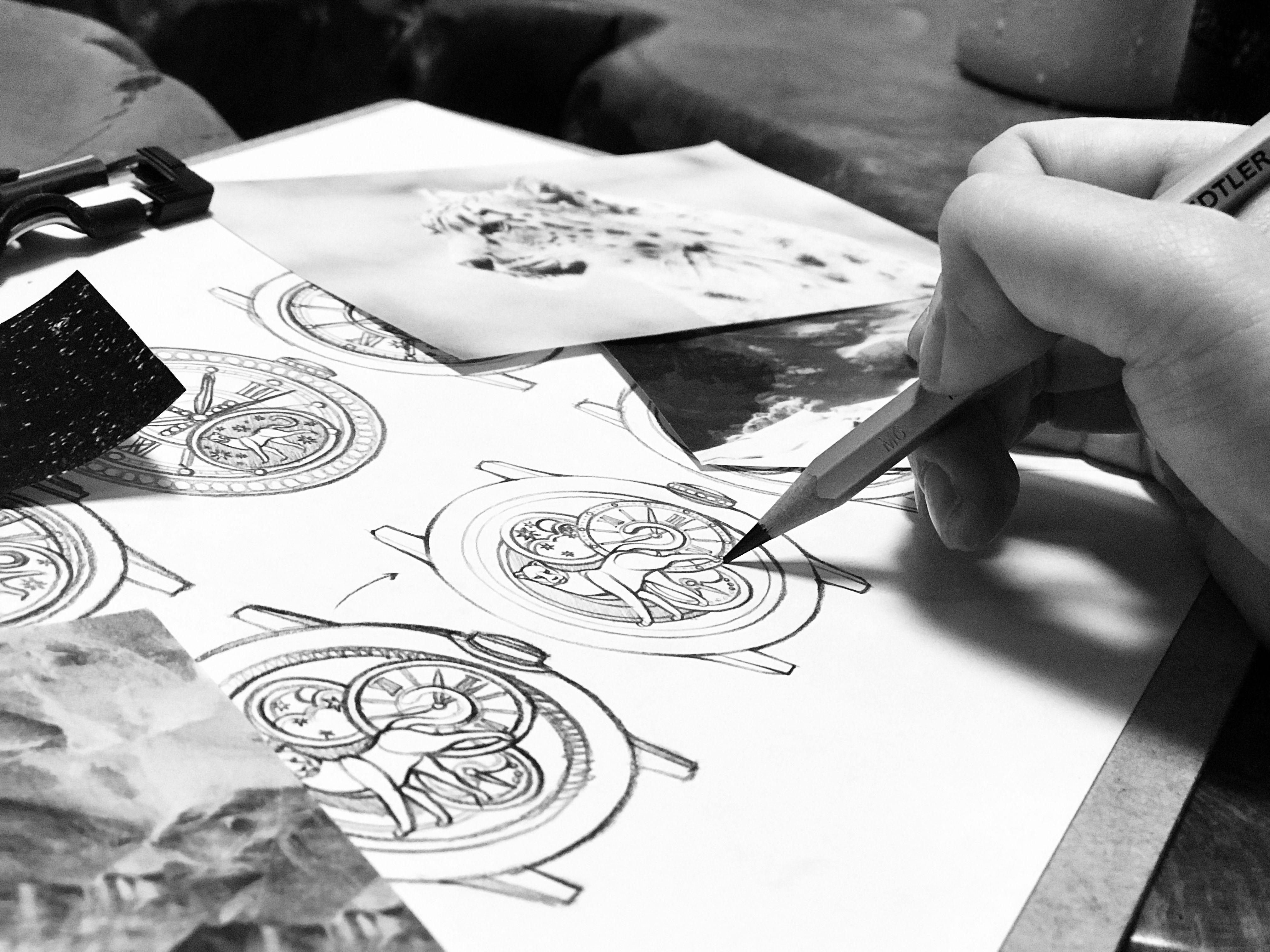 Personal Portfolio Watch Design Snow Leopard Process Idea Sketch Copyright C Hyunjiwon 2018 All Rights Re Watch Sketch Watch Drawing Snow Leopard