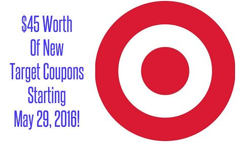 Target Deals: $45 Worth Of New Store Coupons Starting 5/29! This post may…