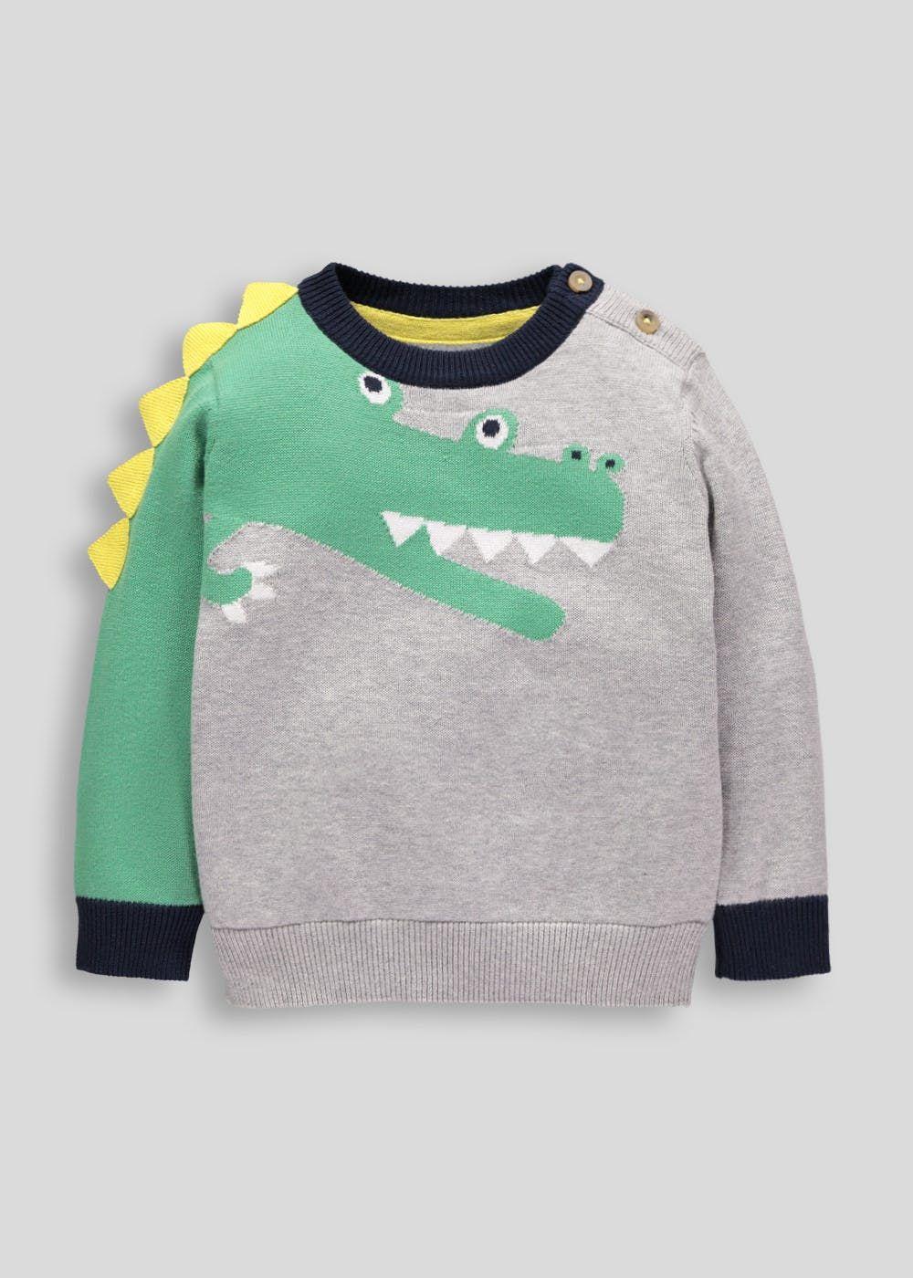 bb93d53a399e Boys Mr Crocodile Jumper (3mths-5yrs)