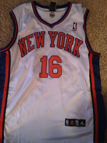 buy online ba510 c8004 Authentic Steve Novak #16 New York Knicks Jersey Size 50 (L ...