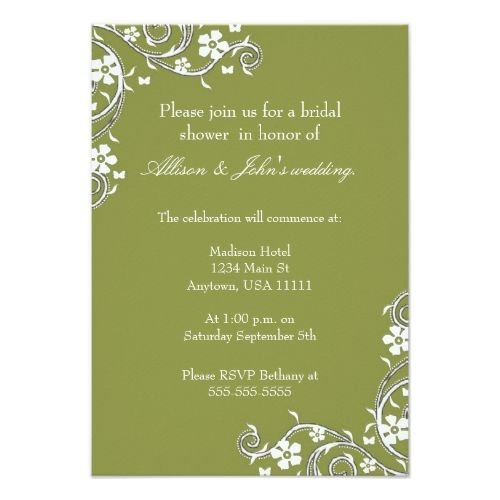 Butterfly rsvp wedding cards thyme floral swirls bridal shower custom merlot floral swirls bridal shower invitation created by weddingsbyjade this invitation design is available on many paper types and is completely filmwisefo Images