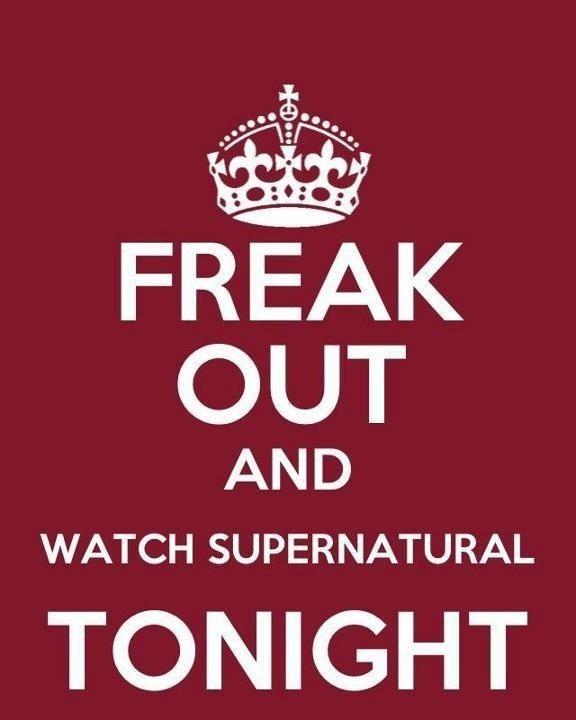 It's on tonight! Yay!