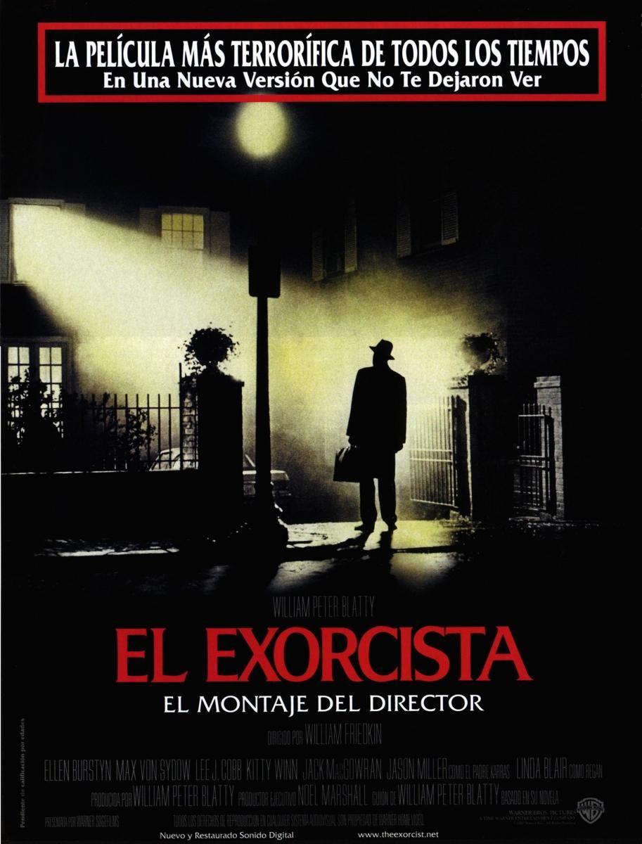 El Exorcista 1973 Eeuu Dir William Friedkin Terror Suspense Relixion Peliculas De Culto Dvd Cin Peliculas De Terror Cine De Terror Carteleras De Cine