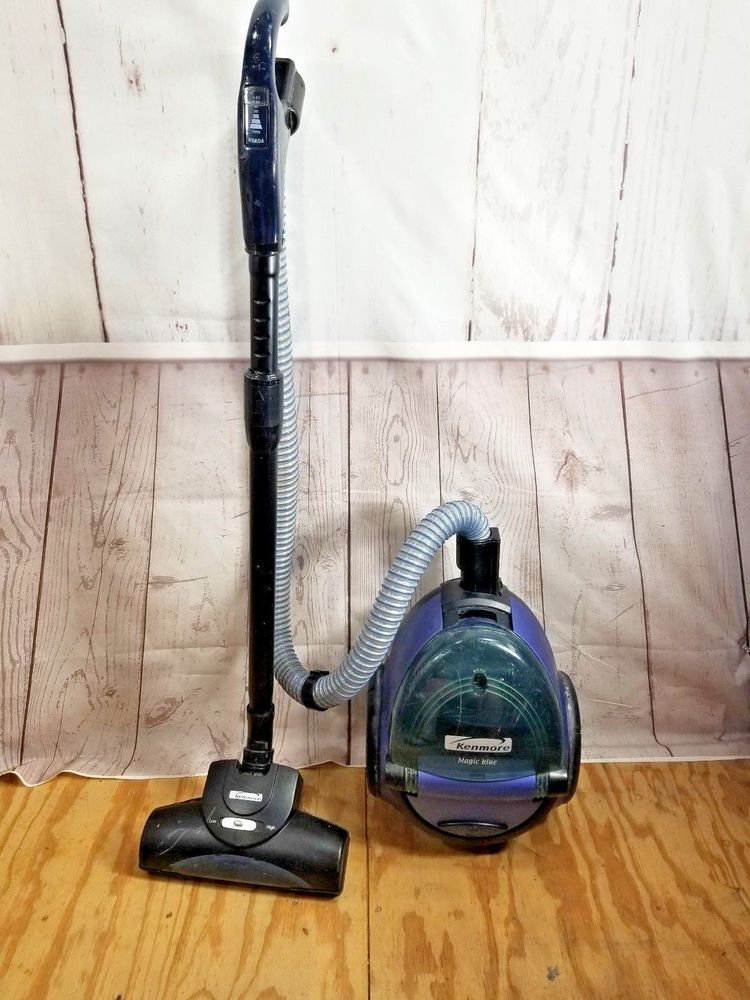 Kenmore 721 Magic Blue Compact Canister Vacuum Cleaner Kenmore Canister Vacuum Cleaner Vacuum Cleaner Blue Magic