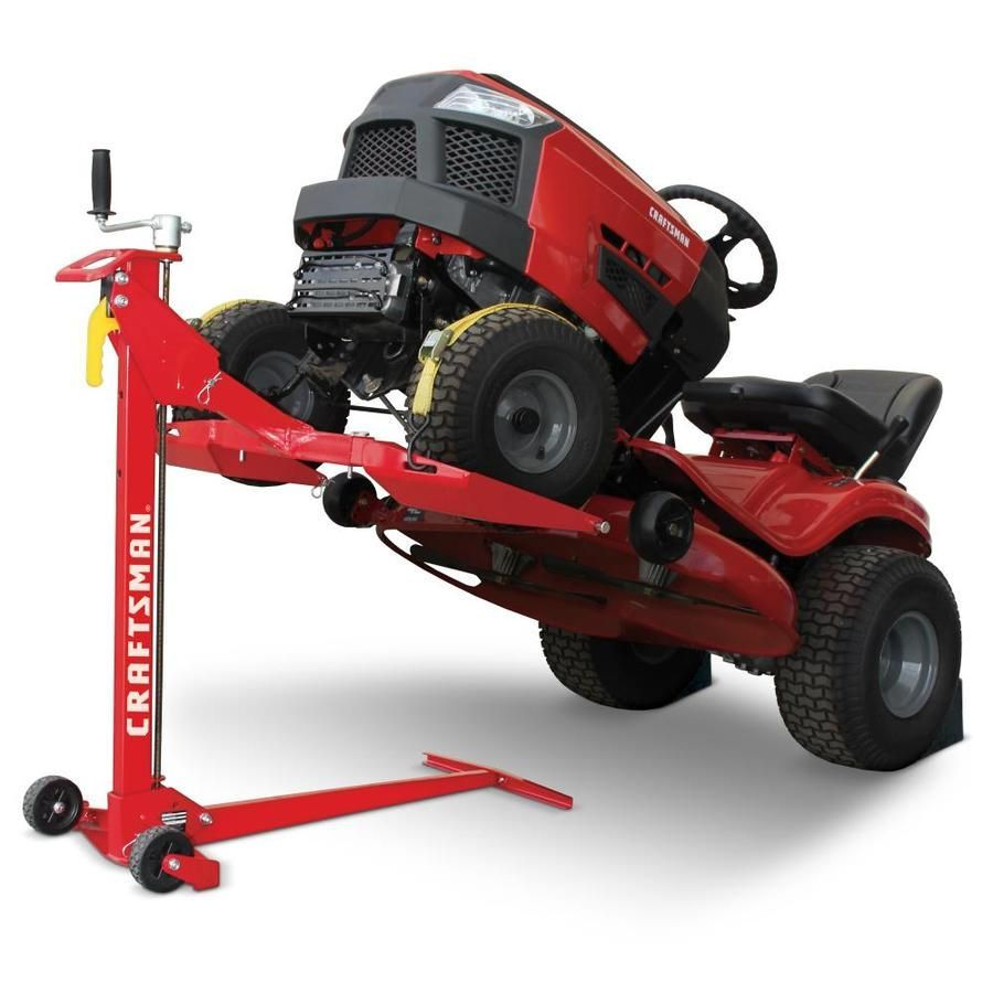 Craftsman 24 In Collapsible Lawn Mower Jacks At Lowes Com 24in Collapsible Craftsman Jacks Lawn L In 2020 Electric Riding Lawn Mower Lawn Mower Riding Lawn Mowers