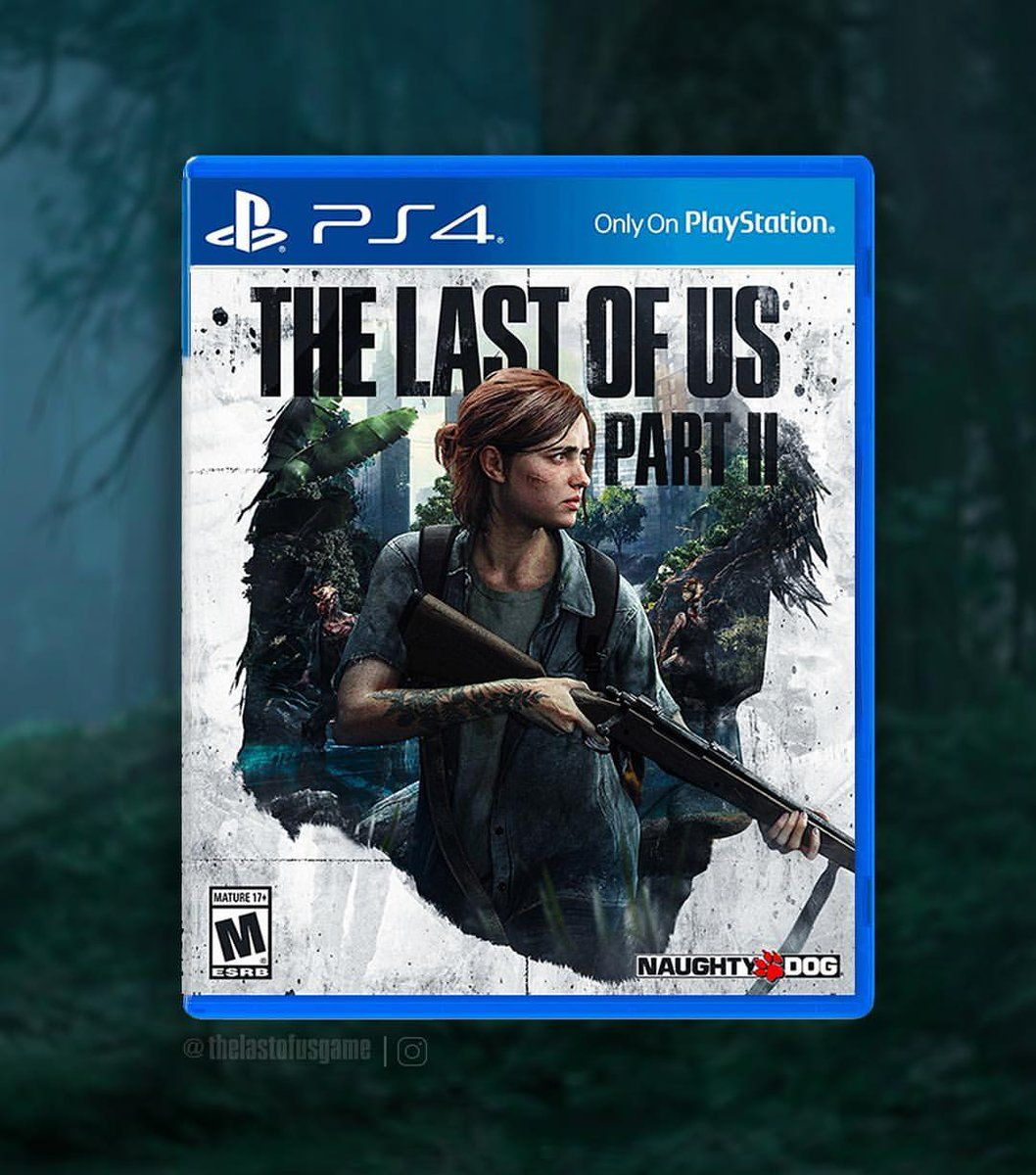 Concept For The Last Of Us Part Ii Ps4 Box Cover Art By Jpreet927 Coverart Not The Actual Final Box Cover Art