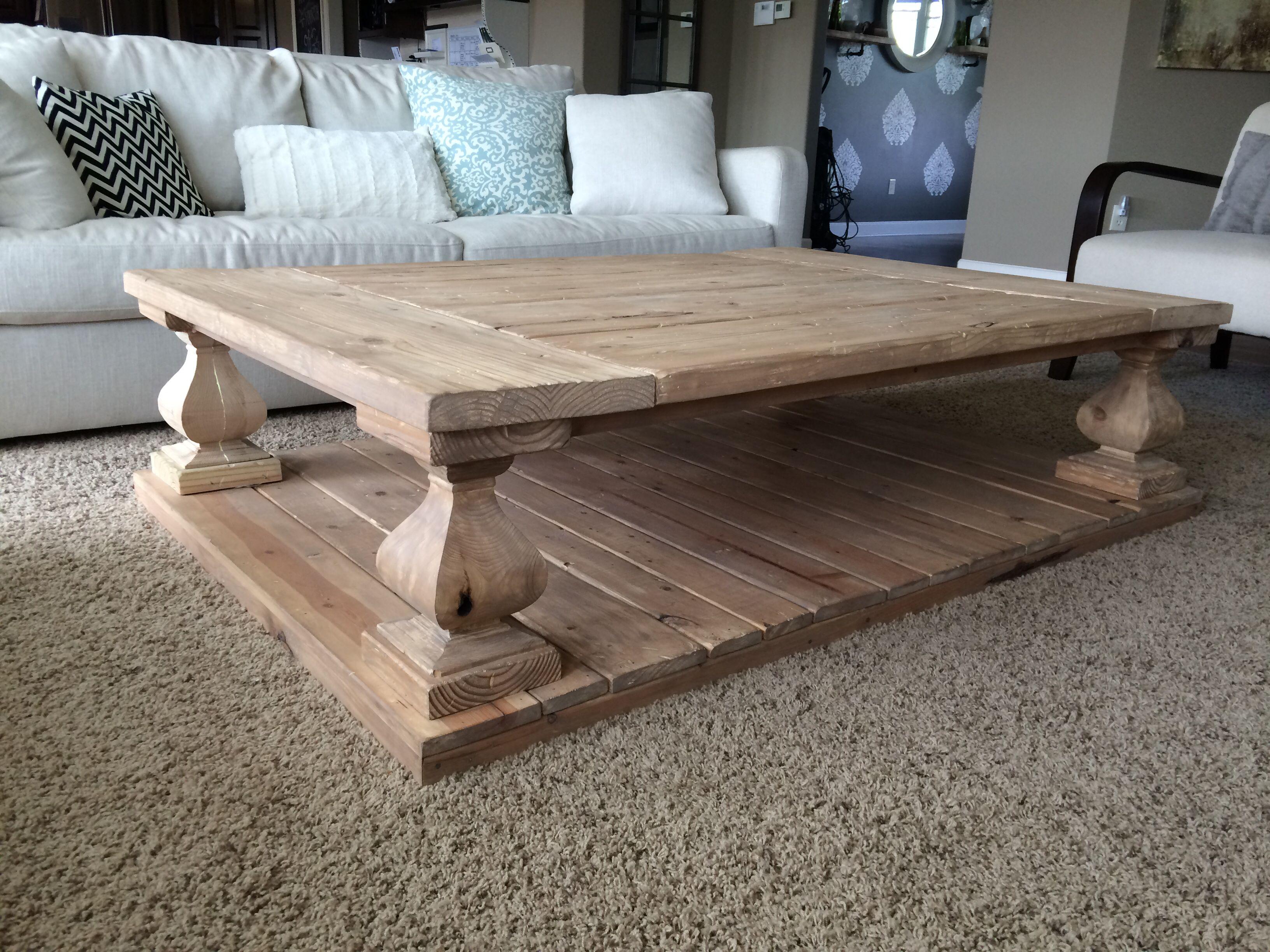 Knockoff rh coffee table i built coffee table coffee