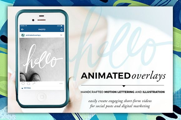 Animated Overlay - Hello (Scripted) by Baron Art Co. on @creativework247