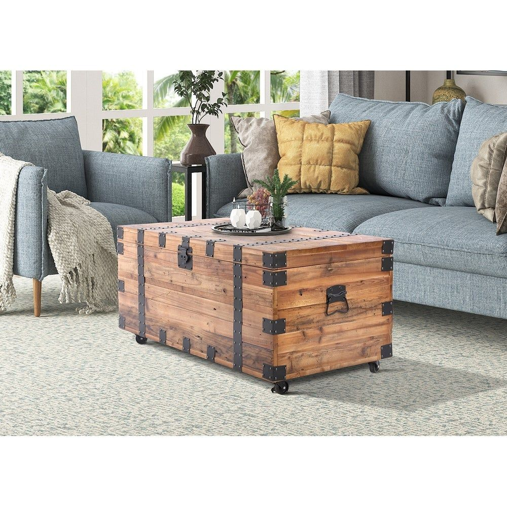 Overstock Com Online Shopping Bedding Furniture Electronics Jewelry Clothing More In 2021 Trunk Table Reclaimed Coffee Table Coffee Table Wood [ 1000 x 1000 Pixel ]