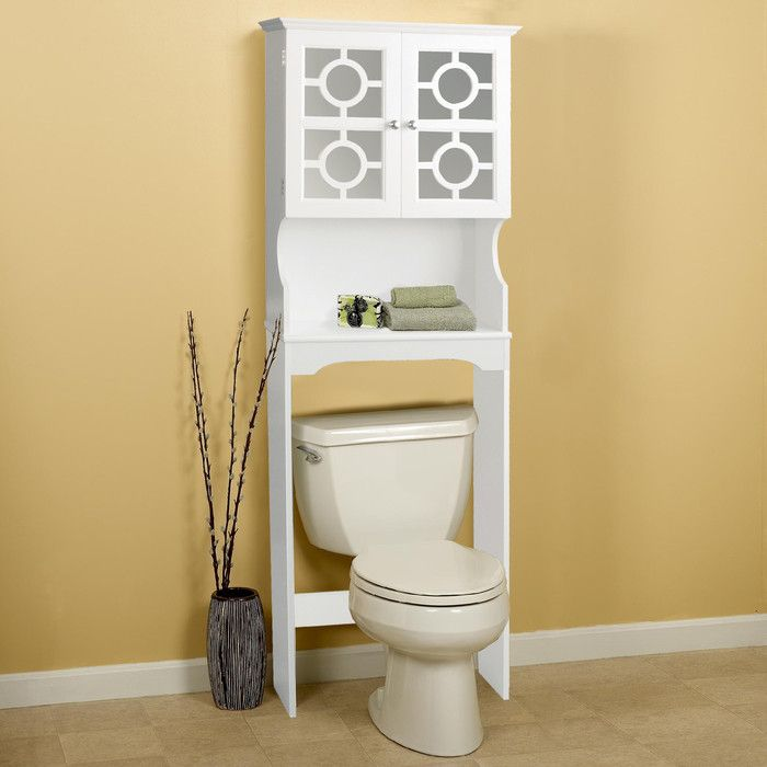 Youu0027ll Love The 34 X 38.5 Free Standing Over The Toilet At Wayfair