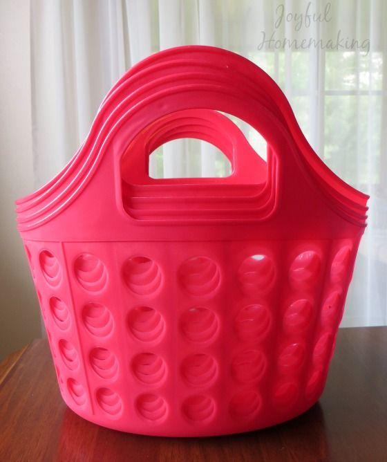 Chore Kits with Free Chore Printable - Joyful Homemaking