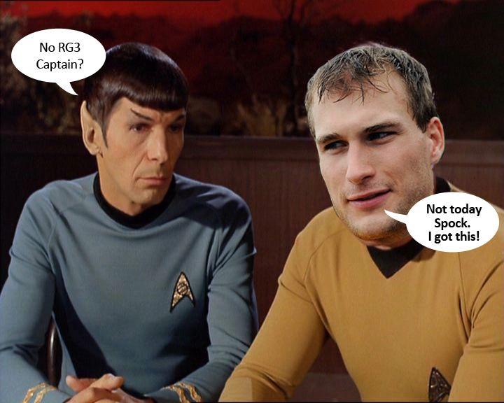 159165d2b2106f3481251b6f1d187529 scotty don't beam rg3 up today i got this captain kirk,Kirk Cousins Meme