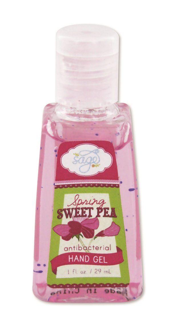 B242 R522 Sage Hand Sanitizer Spring Sweet Pea Hand