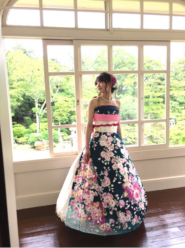 Japanese Brides Are Transforming Furisode Kimonos Into Stunning ...