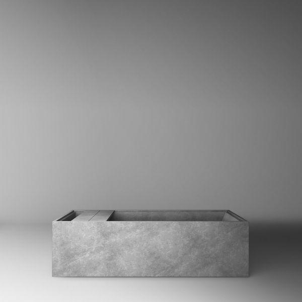 HENRYTIMI | bagni | vasca | bagno esclusivo, vasche di design minimale, bagni in pietra marmo porfido granito, vasca su misura, bagno made in italy, vasche di lusso, bagni più belli