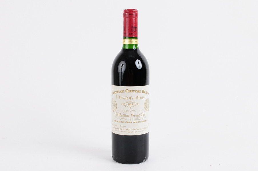 サンテミリオン シャトー・シュヴァル・ブラン 1988 CH.CHEVAL BLANC WINE