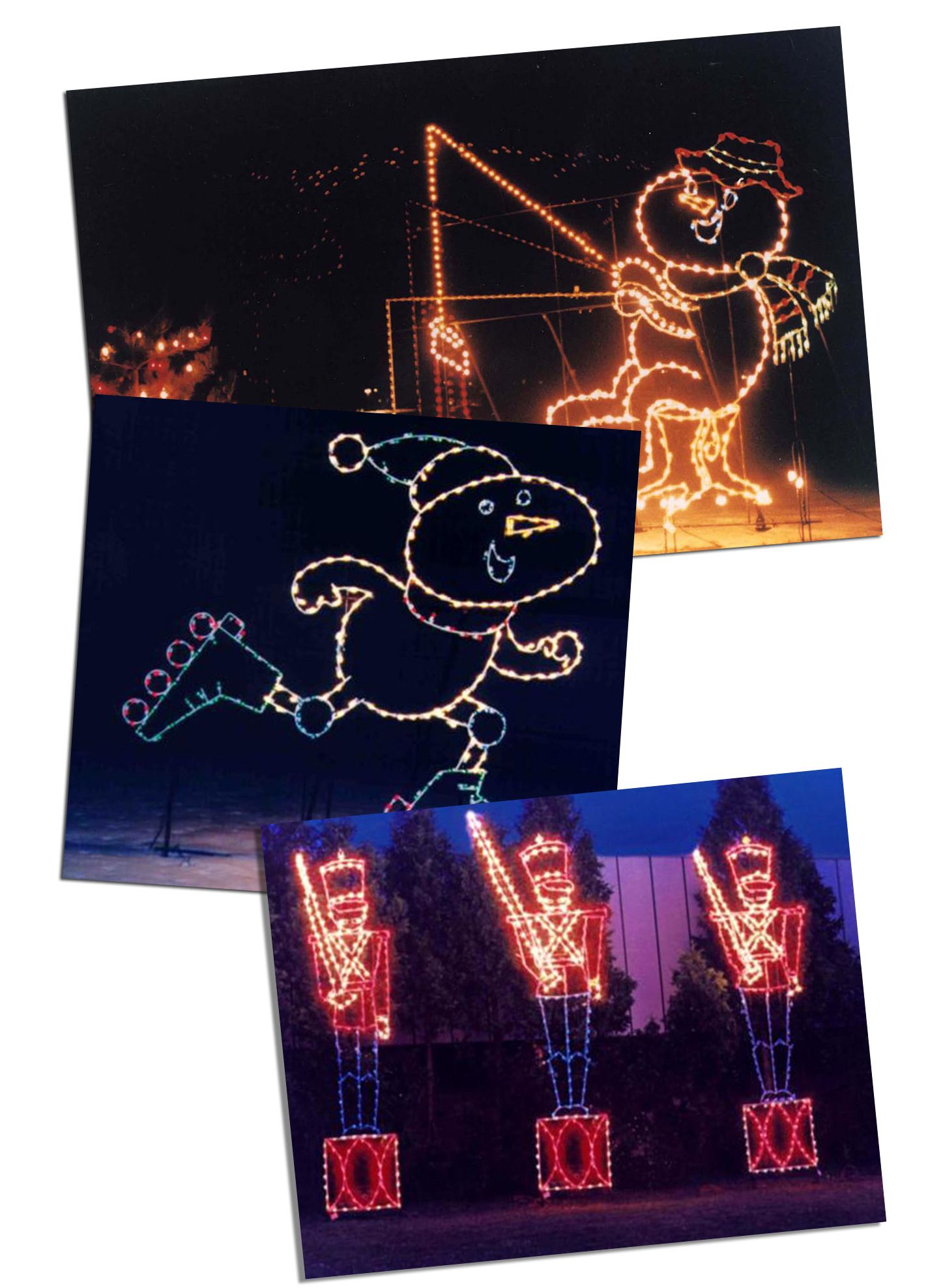 St. Paul, MN Phalen Lake 2014 Holiday Lights in the