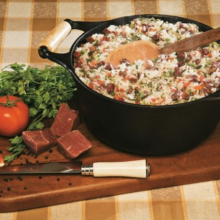 Arroz Carreteiro Gaucho 3 9 5 Receita Culinaria Gaucha