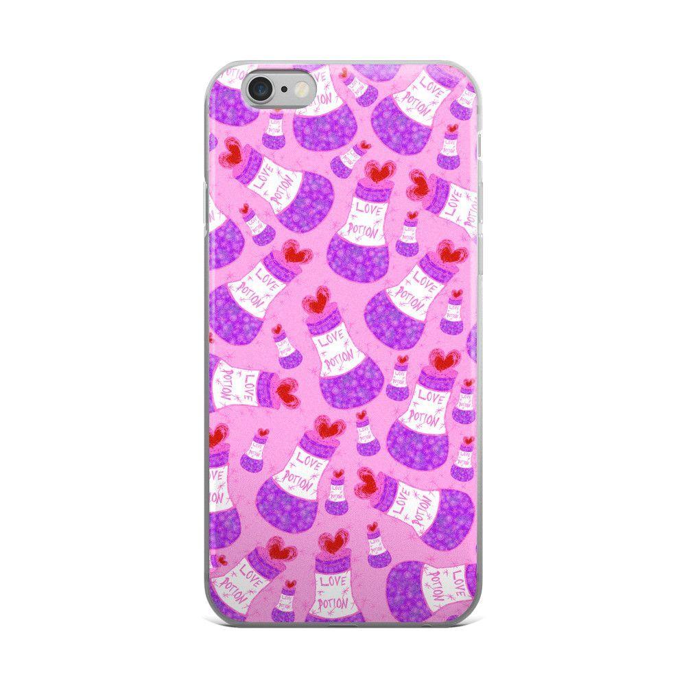 LOVE MI POTION iPhone 5/5s/Se, 6/6s, 6/6s Plus Case