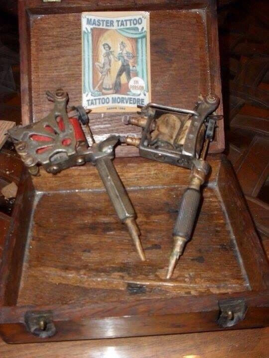 Tattoo machine # vintage | Tattoo machine, Vintage tattoo ...