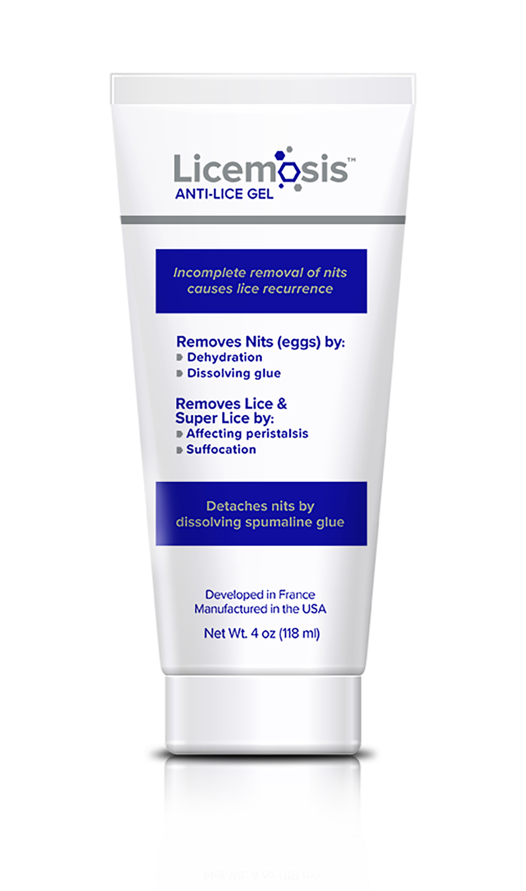 Licemosis Anti Lice Gel Eliminates Nits Lice And Fear Of Recurrence Guaranteed Gel Lice Removal How To Remove