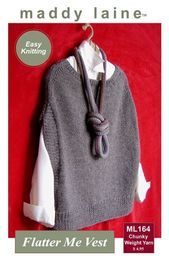 Photo of MaddyCrafty Does It Again – New Vest Pattern!-#again #maddycrafty #pattern #Ve…