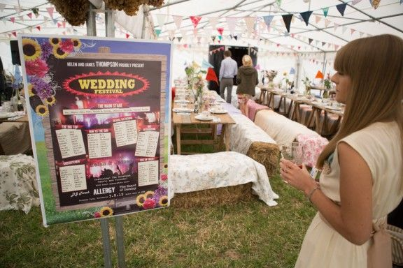 24 awesome ideas for a festival-themed wedding | Other, Festivals ...