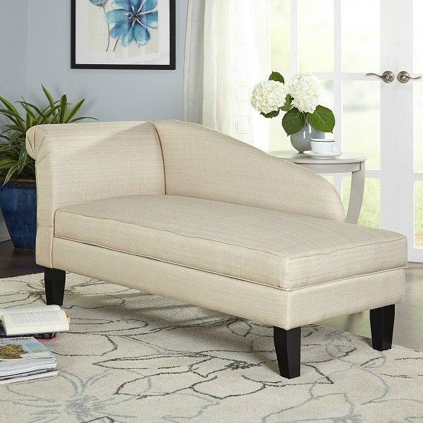 Extra Long Storage Bench Indoor Chaise Lounge Chair Oversized Storage Bench Seat Loveseat