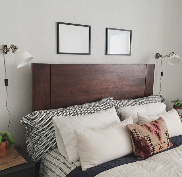 Bedroom Wall Decor Ikea Bedroom Under Window Cute Anime Bedroom Blue And Brown Bedroom Ideas: West Elm Bed Frame And Bedding