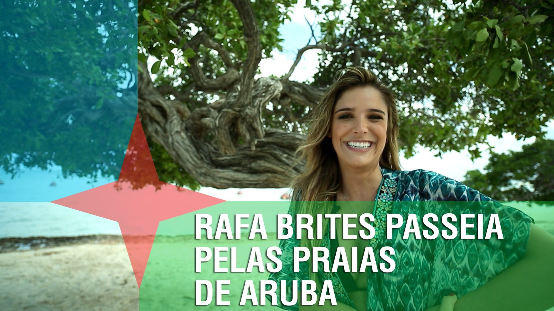 RAFA BRITES PASSEIA PELAS PRAIAS DE ARUBA