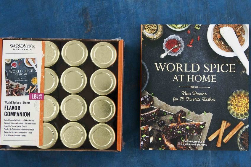 World Spice at Home Gift Set: This all-in-one set contains