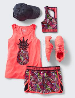 5e06225a33 Active Outfits For Girls - Girls' Gym Outfits | Justice | Workout ...