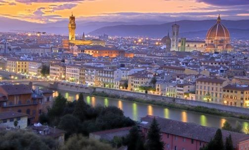 View From Piazzale Michelangelo At Sunset Best Places