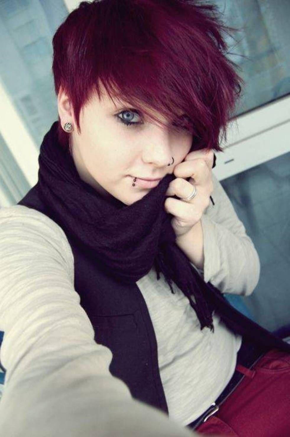 Short Scene Hairstyles on Pinterest