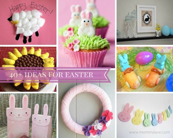 40+ Easter Ideas - Momma Lew