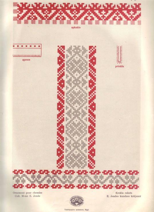 Gallery.ru / Фото #48 - Латышский орнамент - lenadep ...