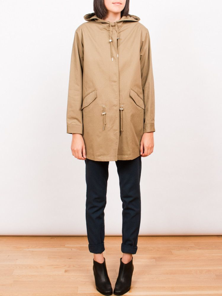 Frances May - APC Gabardine Mod Parka | clothes | Pinterest ...