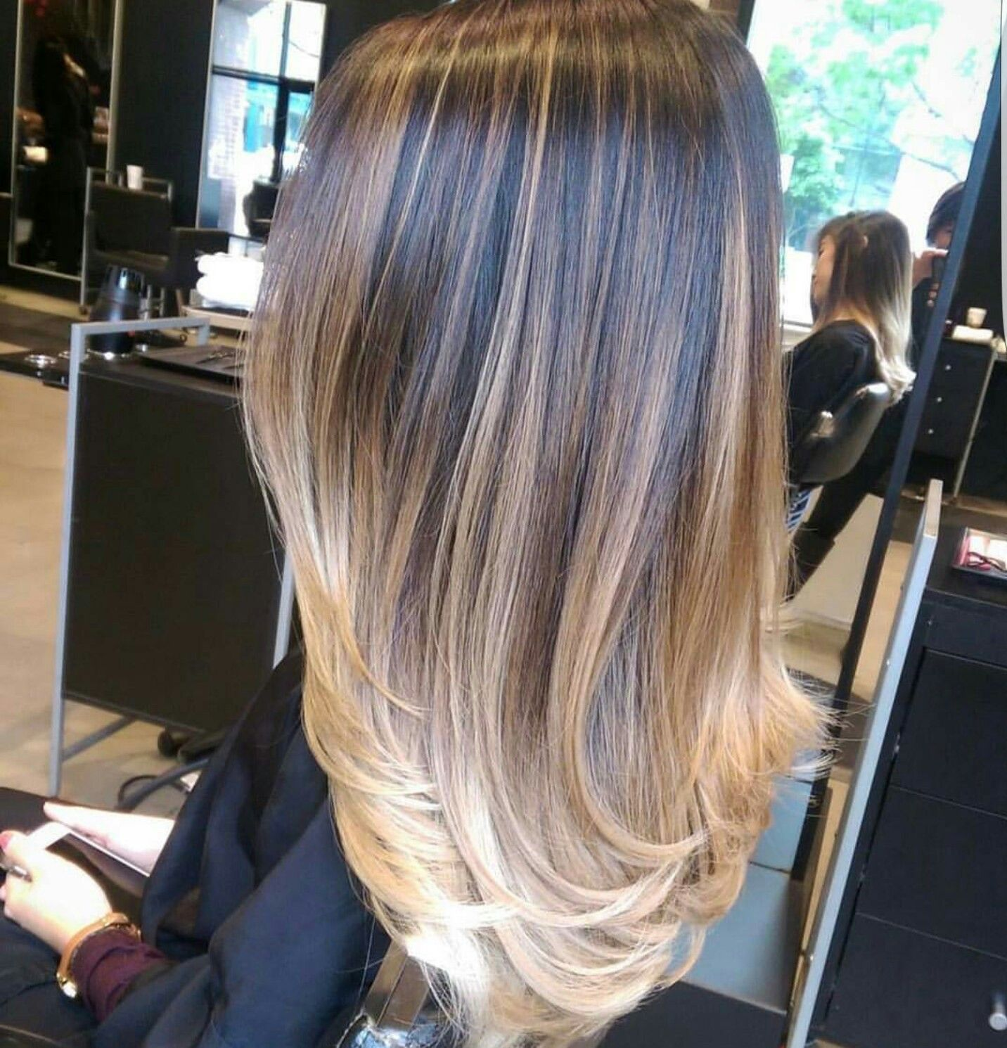 Pin Von Rebekka Giesbrecht Auf Color De Cabello Balayage Haare Blond Haare Balayage Blondes Haar Balayage